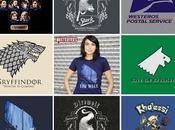 Game Thrones, mode tee-shirts autres goodies