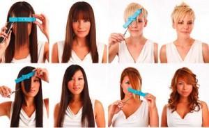 Couper les cheveux longs soi meme