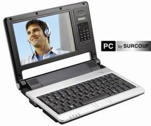 mobile pc by surcouf