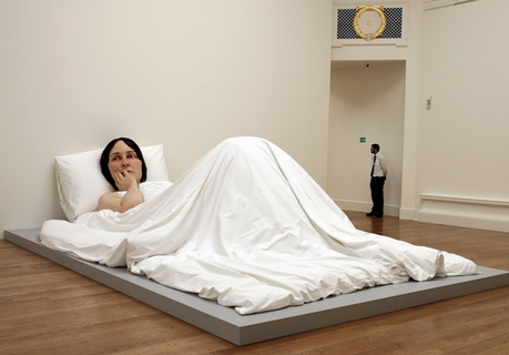 Ron Mueck à la Fondation Cartier pour l'art contemporain