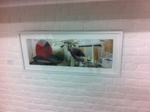 Vernissage de l'exposition de l'artiste Gautier Deblonde