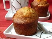 Cake muffins moelleux d'orange avec orangettes