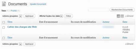 Système de gestion documentaire avec WordPress