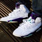 Air Jordan VI Grape par El Cappy