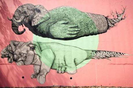 STREET ART – Les animaux de La Pandilla