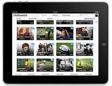 Followatch iPad