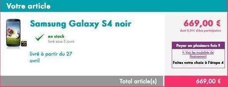 Samsung Galaxy S4 Sosh