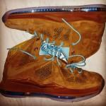 Nike LeBron X Brown Suede