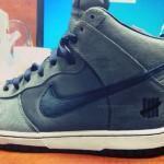 UNDFTD x Nike Dunk High Ballistic