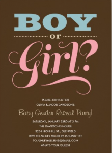 Gender Reveal Party By Love'n Gift