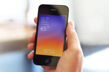 Solar Weather sur iPhone, gratuit au lieu de 0.89 €...