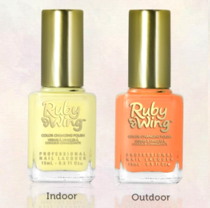 Ruby Wing : Vos ongles changent de couleur !