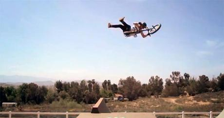 La session BMX de Pat Casey sur le Dream Yard