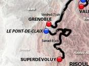 Critérium Dauphiné parcours