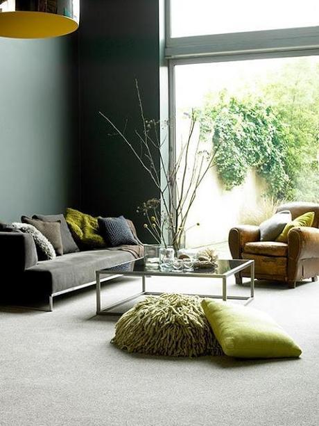 Inspiration # 12 - Un salon vert.