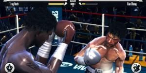 real boxing match