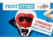 Oasis Fruitstore Lancement d'une collection t-shirt fruité