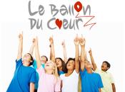Clinique Edouard Rist merveilleux événement, 2013, pour enfants malades Ballon Cœur