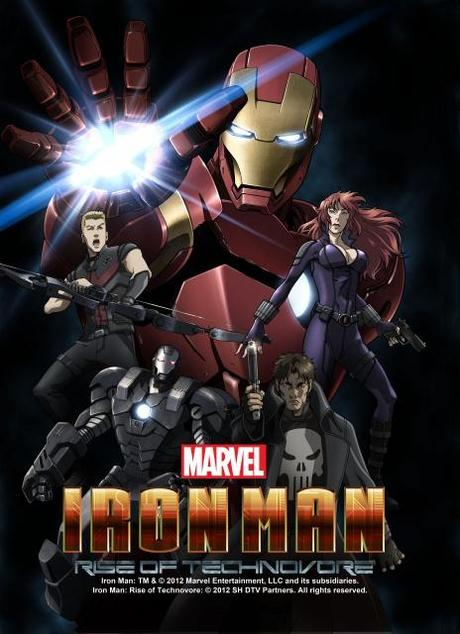 marvel film d'animation