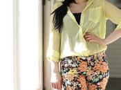 pantalon imprimé floral.