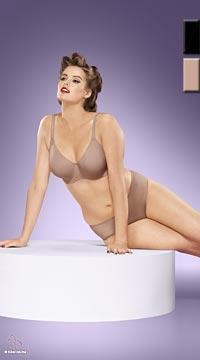 Lingerie grande taille Invisible sans coutures