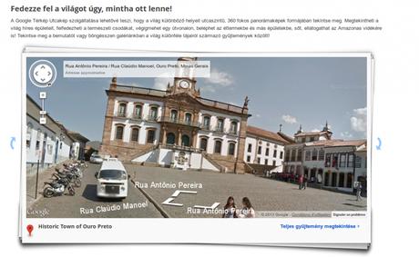La Hongrie désormais disponible dans Google Street View