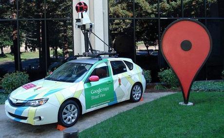 La fameuse voiture de Google Street View.