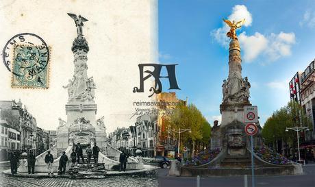 La fontaine Subé, flambant neuve en 1906/2013