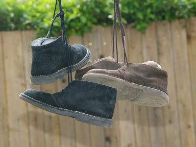 Customisation de chaussures style Clarks. | À Voir