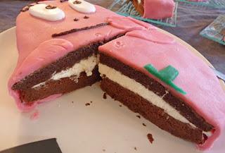 G teau d 39 anniversaire et cupcakes barbapapa d coration p te d 39 amandes voir - Decoration anniversaire barbapapa ...