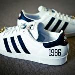 Nouvelles images: RUN DMC x Adidas Superstar 80s