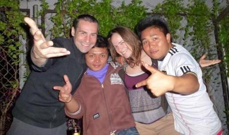 Haydee du blog Travelplugin pendant un voyage en Asie