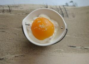 Abricots sur le plat, fromage blanc et mascarpone