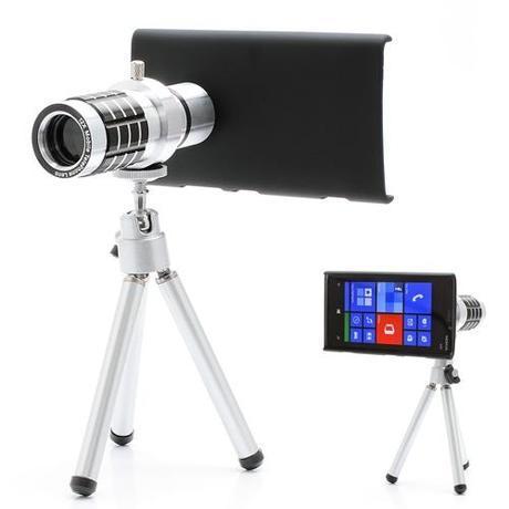 Un zoom optique 12x pour le smartphone Nokia Lumia 920