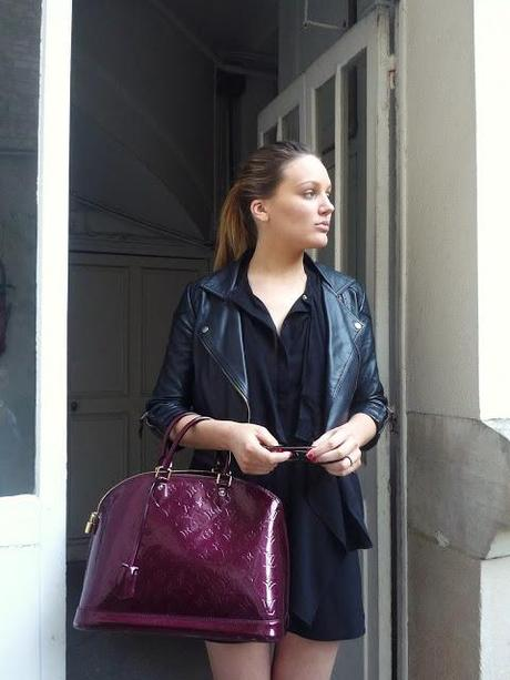 LOOK DU JOUR: PAINT IT BLACK...PAR CHRISTY