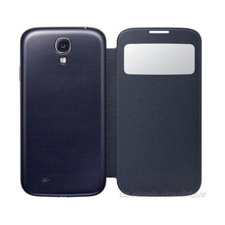 Coque arrière avec clapet S-View pour le Samsung Galaxy S4