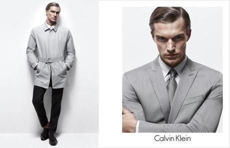 Du gris et du blanc : du Calvin Klein