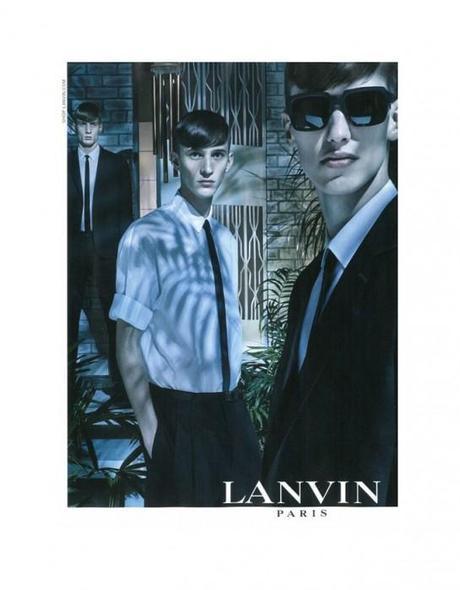 1, 2, 3 plans pour Lanvin