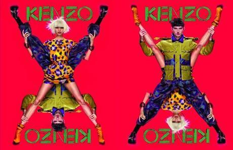 Kenzo opte pour une campagne acidulée et totalement surnaturelle !