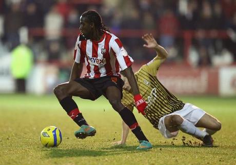 Claye Donaldson, muet devant les buts au County Ground