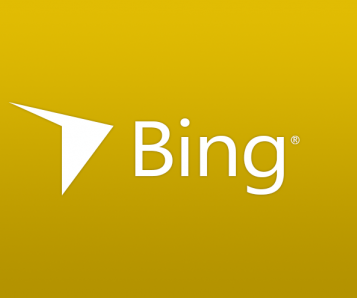 Concept de logo de Bing