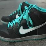 Nike Dunk High Anthracite White Sport Turquoise