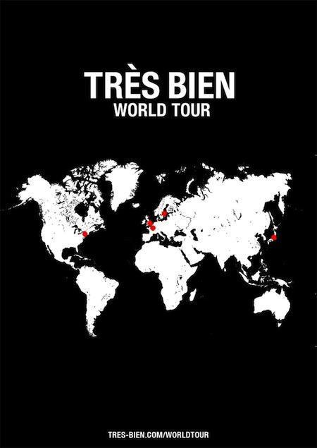 Très Bien Shop World Tour