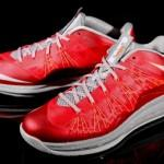 Nike LeBron X Low Red Grey Crimson