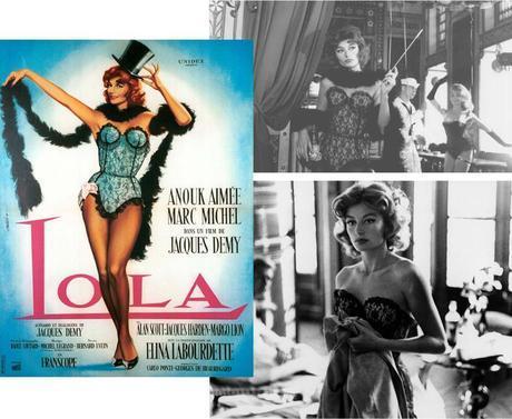 lola jacques demy, anouck aimé, affiche films