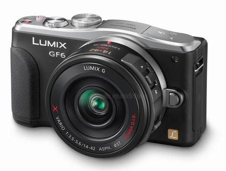 Appareil photo Panasonic Lumix GF6, un compact Wi-Fi NFC GPS à objectif interchangeable