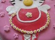 premier gâteau pâte sucre!