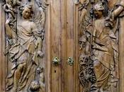 Frères Asam: porte originale porche maison Asam Sendlingerstrasse