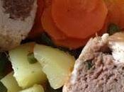 Roulé dinde, légumes vapeur