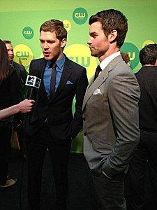 Le Cast de The Vampire au CW Upfront 2013
